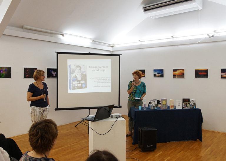 Predstavljanje knjiga Anite Šupe