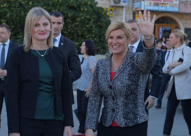 Predsjednica Kolinda Grabar_kitarović u Veloj Luci