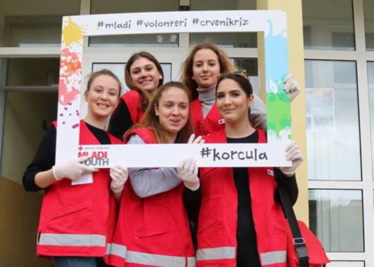 Međužupanijsko natjecanje mladih Crvenog križa u Korčuli