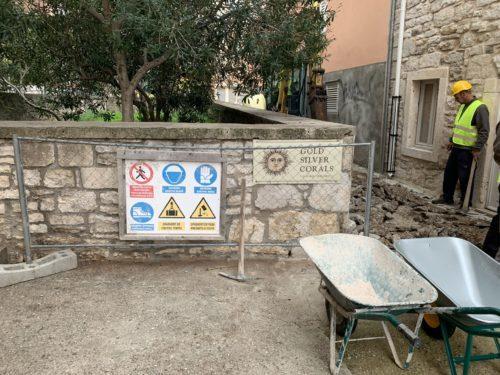 Početak radova na izgradnji sustava odvodnje u centru mjesta