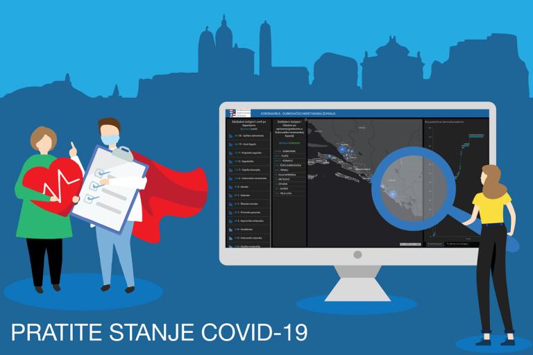 Sve o koronavirusu u Dubrovačko-neretvanskoj županiji doznajte putem interaktivne karte