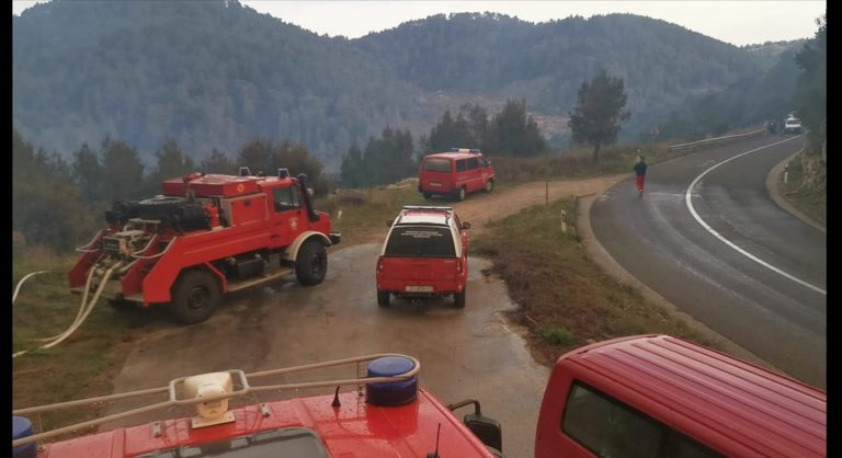 Stanje na požarištu u Smokvici stabilno