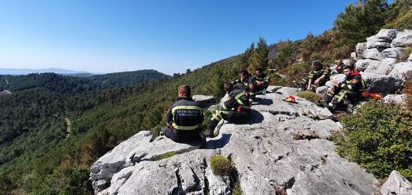Općina Smokvica: Trenutno na požarištu nema otvorenog plamena