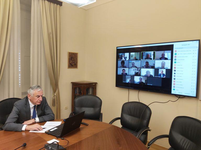 Načelnica Katarina Gugić sudjelovala na videokonferenciji sa Županom i ostalim općinskim načelnicima