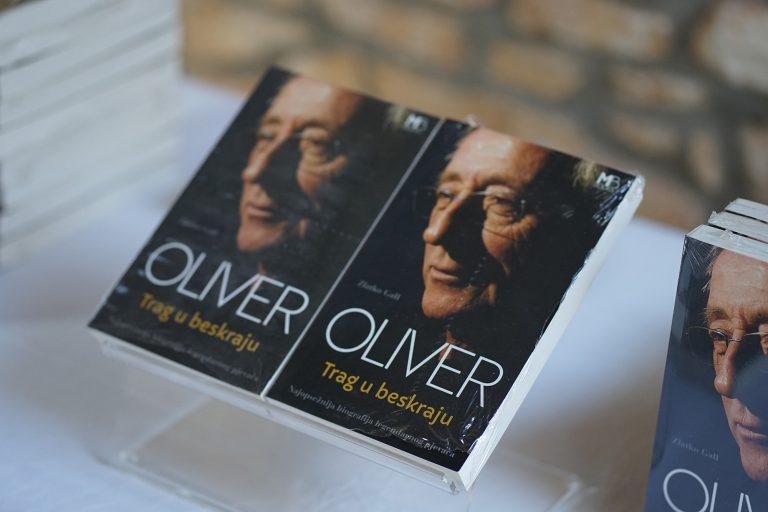 """Održano predstavljanje knjige """"Oliver Dragojević: Trag u beskraju"""" autora Zlatka Galla"""