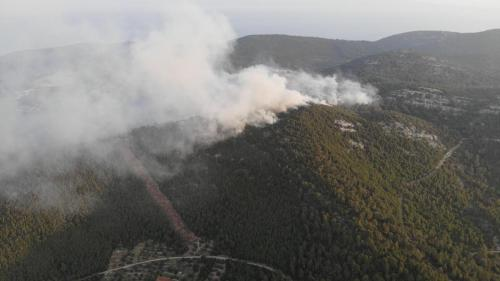 Požar u SmokviciFoto: Općina Smokvica/Facebook