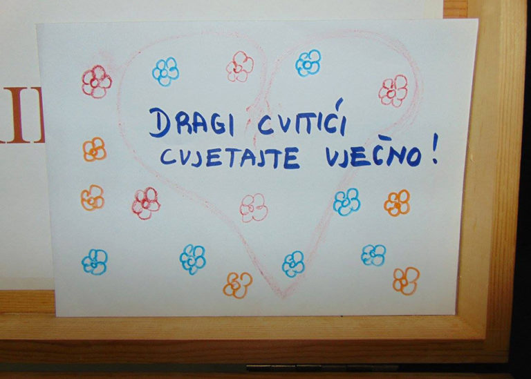 Otvorena prva humanitarna izložba radova djece Udruge Cvitić