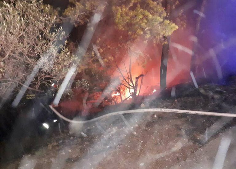U jednom danu je DVD Vela Luka imao dvije intervencije gašenja požara