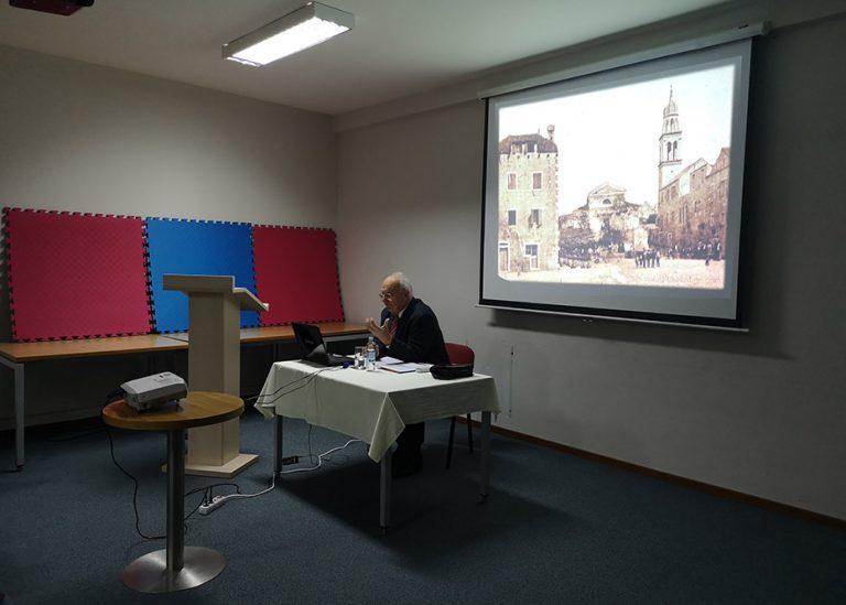 Predavanje prof. Josipa Žuvele o gastronomiji Vele Luke