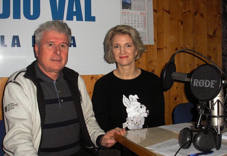 Dipl.ing.agronomije Zrinka Favro u Radiju Val