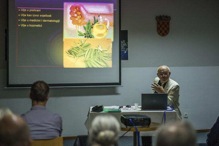 Održano predavanje prof. Josipa Žuvele o masilonovom ulju