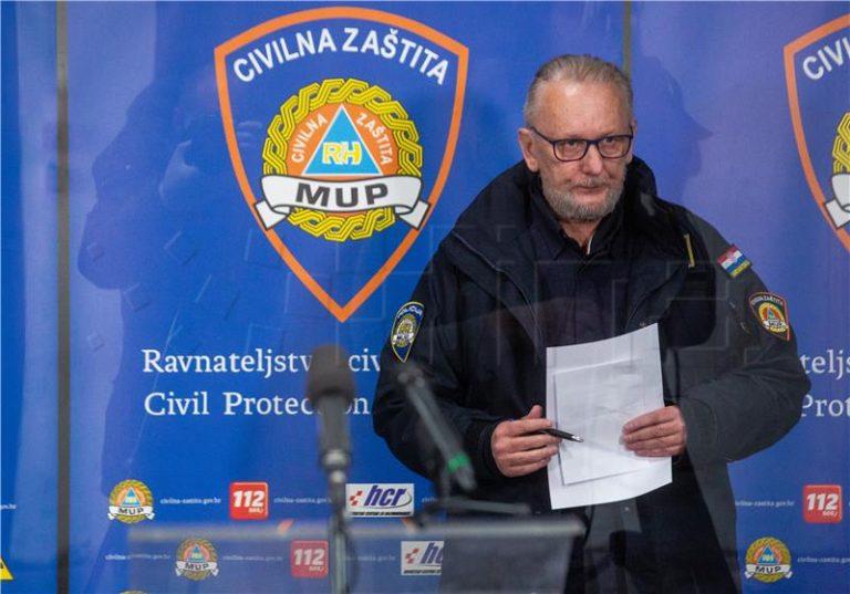 Ministar Božinović predstavio nove odluke Stožera civilne zaštite Republike Hrvatske