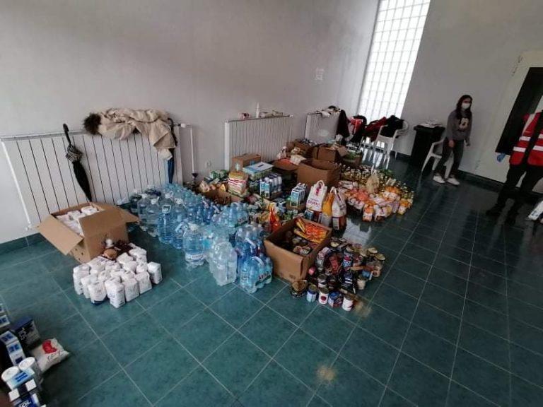 Završena akcija  prikupljanja  pomoći zastradale u potresima
